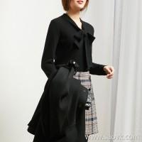 α[ZY158899AG]笑涵阁 Upgraded version of cashmere streamer style multi-shape can be concave color sweater