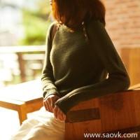 の[A563914] 笑涵阁si clothing recommended fashionable lazy casual extravagant cowhide sweater knit pullover