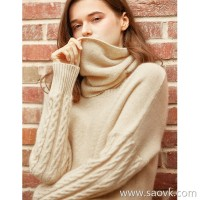 の[W565180] Be a changeable woman! Two-necked cashmere cashmere sleeves