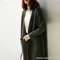 の[W563917] Xiaohan Pavilion Give feedback to the laughter! So warm! Yak wool knit cardigan