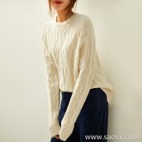 の[W565221] 笑涵阁 Fist cashmere! It is super excellent! High gram weighted cashmere sweater