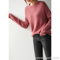 の[ZY158713VG] 笑涵阁 定纺色系! Come to the colors in winter! Wool cashmere sweater