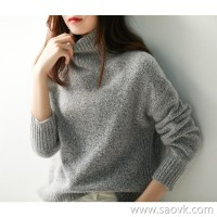 の[ZY158448VG] Sparkling sequins, the crowd is drunk TE! Cashmere warm wool knit sweater