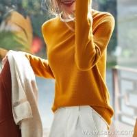 の[ZY158714AG] Laughing Hange stitching contrast color to form a layered sense