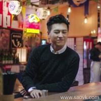 α[W565245] Laughing Hange is a manly gentleman! Idea yarn cashmere sweater pullover male