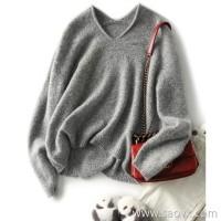 の[ZY158832AG] Limited Edition Italian JIN mouth flower yarn Bling fancy sequined cashmere sweater