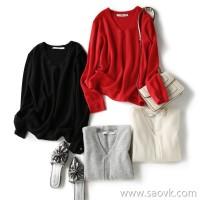 の[W565229] Laughing Hange Pure color, coat with your heart! Custom Concey Cashmere Sweater