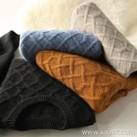 の[ZY158851VG] Town store is pure! Elegant and twisted design ~ autumn and winter cashmere sweater (men's clothing)