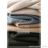 α[ZY121168AL] 笑涵阁 Patchwork raglan sleeves Short front long high collar with alpaca sweater