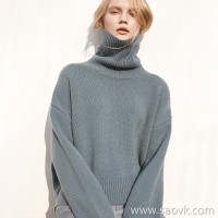 Small worm yak velvet high collar loose hooded lazy wind thin warm warm sweater top female 2018 new winter