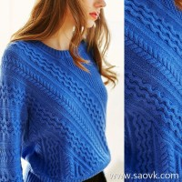 [2 pieces 799 yuan] bugs 13 piece sewing process twisting craft cashmere sweater pullover women