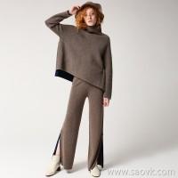 [Three pieces and 20% off] bugs yak velvet series Heavy yak velvet high collar warm sweater