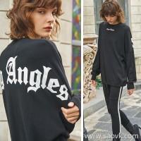Chopper CHONG ANGLES Fashion Wild Wool Drawstring Sweater Sweater Sweater Autumn New Tops Women
