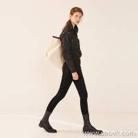 Limited] recommended American fabric zero binding strong comfort high elastic slimming silk gloss ladies casual trousers