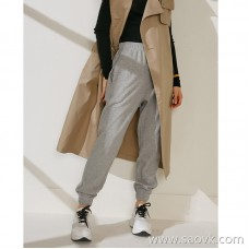 Limited special) good pants type 好 good wearing street casual wind elastic pants waist women's pants sweatpants (2 colors