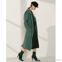 Limited special] soft care combined with Chinese style lock design ladies hooded sweater cardigan jacket (3