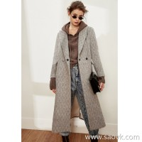 Limited pre-special] love! ! Thick but thin, good-looking long-haired alpaca, high-grade brown coat