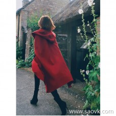 Limited special) MISS HE high-end master fine series beauty fried luxury CHI royal fabric woolen cape 2 colors