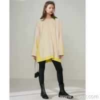 Limited special] plus thick warm and soft soft loose three-dimensional profile cut color line round neck pull head * *