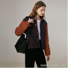 Limited special] Wang Ye produced new technology No cut line down Women's short cardigan coat (2 colors