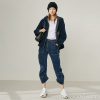 Limited edition] limited edition casual fashion practical two-sided wear hooded short cardigan coat (2 colors