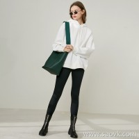 Limited special] Wang Ye produced thickened high-density inner fleece Chao Fan classic ladies hooded sweater 5 colors