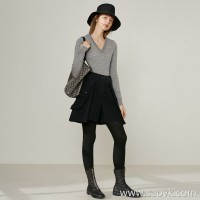 Limited] high-end designer brand thick fabric special large pocket design ladies solid color casual pants shorts