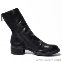 Limited special) high-end homemade Italian original leather version quality upgraded zipper horse leather boots 3 colors