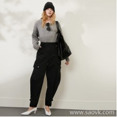 Limited special) high-end homemade Japanese factory produced yarn-dyed fabric, non-fading fabric silhouette solid color jeans 2 colors