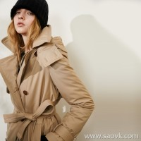 Limited special] special silky texture candy candy double-breasted down jacket