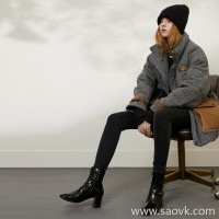 Limited pre-special] high-end homemade heavyweight recommended wool outer layer goose down handsome short down coat 2 colors
