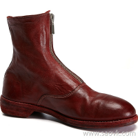 Limited special) high-end homemade Italian original leather version 210 front zipper ladies casual horseskin boots (3