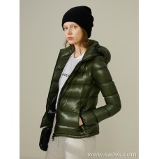 Limited edition] down can also have a waist, marshmallow-like feel, ladies 95 goose down jacket cardigan