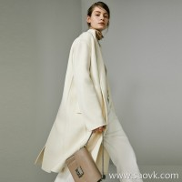 Limited special) stock! Shop word of mouth JIAN end series Upgraded version of the fabric 羊 cashmere coat 2 colors