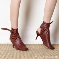 Limited special) high-end homemade giant comfort jin mouth soft sheepskin solid color stiletto ladies high heels (3 colors
