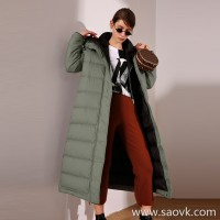 Limit special] For several years, I think ZUI is a classic long down white duck down long down jacket (2 colors)