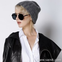 Limited special] fist cashmere series is not easy to pilling craft is Wang Dao pure cashmere knit hat 4 colors