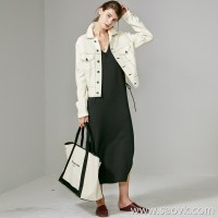 Limited edition]Italian JIN mouth fabric Retro line design tone goddess casual wool short coat