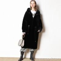 Limited special) [5% change season clearance] 10.8pm 2 points discount effective cotton coat Women (2 colors