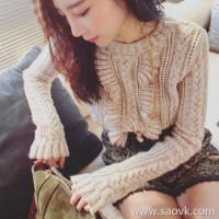 Sandro Moscoloni Knit Sweater Shorts Two-Piece 2018 Fall Winter New Small Fragrance Set
