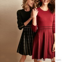 Wind home, the beauty of confidence! Heavyweight thickening, tight waist, warm skirt, wool dress, QZ0773