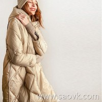 Wind home My goose down toast! Wind private clothing quilt wrapped in goose down hat warm fog down jacket YR0098