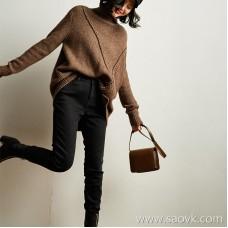 Wind home soft shocking thick winter cash! Poisoned family velvet slim small black feet jeans KZ0396
