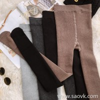 Wind home, keep the practical king! 3 encryption velvet stretch foot high waist pantyhose KZ0434