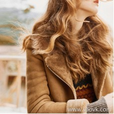 The demeanor of the wind home! Spanish beautiful slave hair one zip jacket jacket PM0133 V