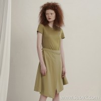 [Same as in the mall] JNBY / Jiangnan commoner dress 2020 spring new simple and irregular 5K1502800