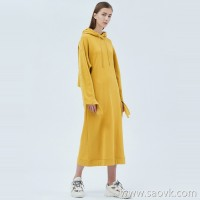 JNBY / Jiangnan commoner dress 20 spring and summer discount new cotton mid-length sweater dress female 5JB501800