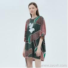 JNBY / Jiangnan commoner 20 spring and summer discount new dress loose print short skirt female 5J4510830