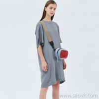 JNBY / Jiangnan Cloth Dress 20 Spring Summer Discount New Simple Loose Linen Straight Skirt 5J4511720