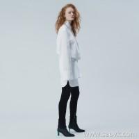 [Same as shopping mall] JNBY / Jiangnan commoner 2019 autumn new simple shirt dress 5J7512790